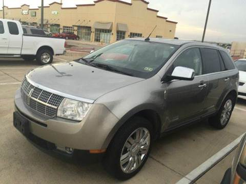 2008 Lincoln MKX for sale at Car Depot in Fort Worth TX