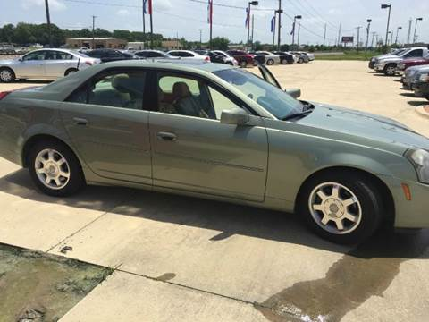 2004 Cadillac CTS for sale at Car Depot in Fort Worth TX