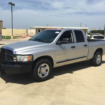 2005 Dodge Ram Pickup 3500 for sale at Car Depot in Fort Worth TX