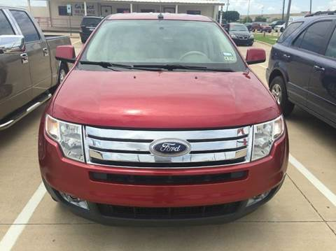 2008 Ford Edge for sale at CARDEPOT in Fort Worth TX