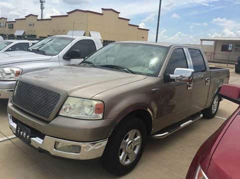 2004 Ford F-150 for sale at CARDEPOT in Fort Worth TX