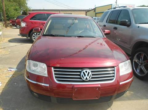 2004 Volkswagen Passat for sale at CARDEPOT in Fort Worth TX