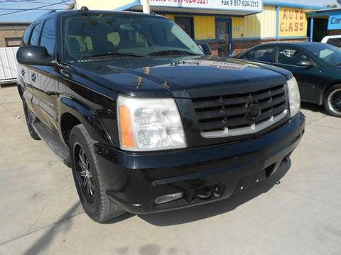 2004 Cadillac Escalade for sale at CARDEPOT in Fort Worth TX