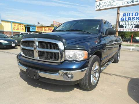 2005 Dodge Ram Pickup 1500 for sale at Car Depot in Fort Worth TX