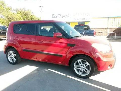 2010 Kia Soul for sale at Car Depot in Fort Worth TX