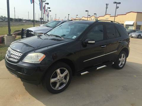 2006 Mercedes-Benz M-Class for sale at CARDEPOT in Fort Worth TX