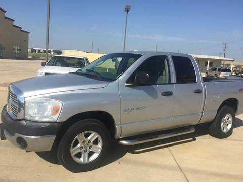 2007 Dodge Ram Pickup 1500 for sale at CARDEPOT in Fort Worth TX