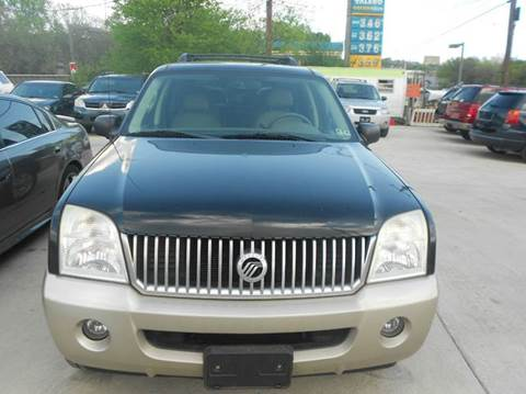 2005 Mercury Mountaineer for sale at Car Depot in Fort Worth TX