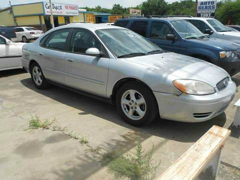 2004 Ford Taurus for sale at CARDEPOT in Fort Worth TX