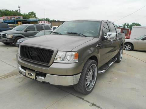 2005 Ford F-150 for sale at CARDEPOT in Fort Worth TX