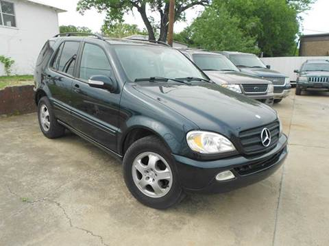 2002 Mercedes-Benz M-Class for sale at CARDEPOT in Fort Worth TX