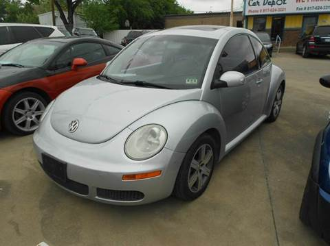 2006 Volkswagen New Beetle for sale at Car Depot in Fort Worth TX