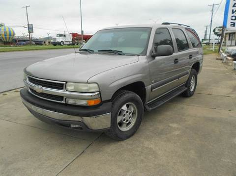 2003 Chevrolet Tahoe for sale at CARDEPOT in Fort Worth TX