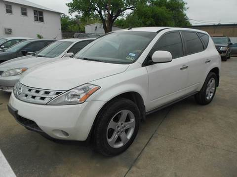 2005 Nissan Murano for sale at CARDEPOT in Fort Worth TX