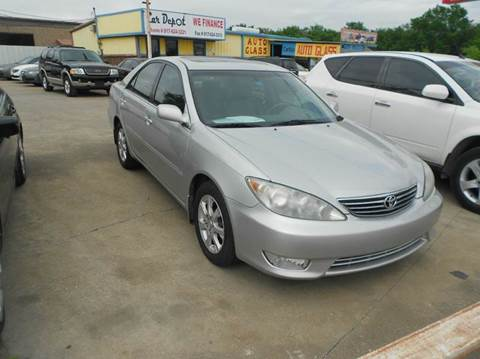 2005 Toyota Camry for sale at CARDEPOT in Fort Worth TX