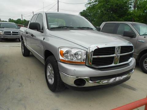2006 Dodge Ram Pickup 1500 for sale at Car Depot in Fort Worth TX