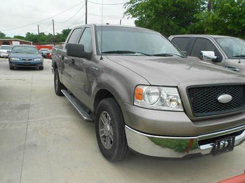 2006 Ford F-150 for sale at CARDEPOT in Fort Worth TX