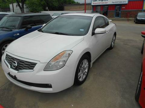 2008 Nissan Altima for sale at Car Depot in Fort Worth TX