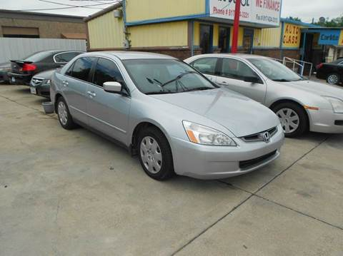 2003 Honda Accord for sale at CARDEPOT in Fort Worth TX