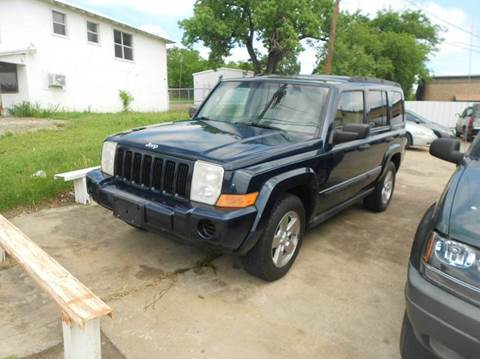 2006 Jeep Commander for sale at CARDEPOT in Fort Worth TX