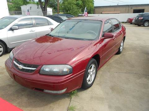 2005 Chevrolet Impala for sale at CARDEPOT in Fort Worth TX