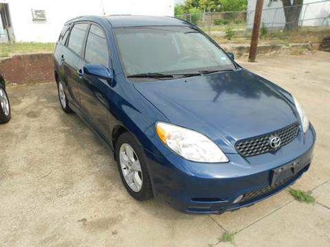 2003 Toyota Matrix for sale at CARDEPOT in Fort Worth TX