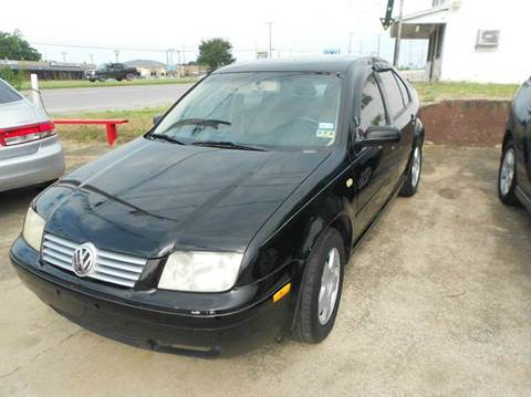 2001 Volkswagen Jetta for sale at CARDEPOT in Fort Worth TX