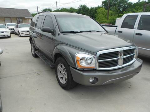 2005 Dodge Durango for sale at CARDEPOT in Fort Worth TX
