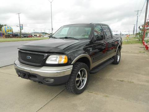 2001 Ford F-150 for sale at CARDEPOT in Fort Worth TX