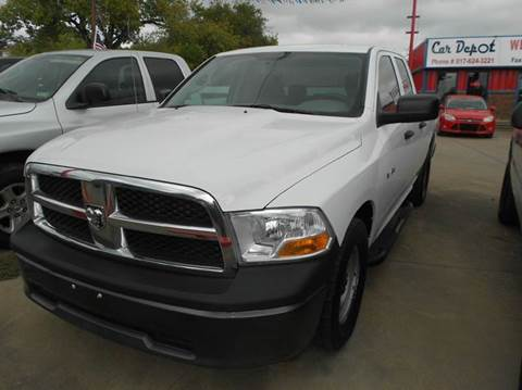 2010 Dodge Ram Pickup 1500 for sale at CARDEPOT in Fort Worth TX