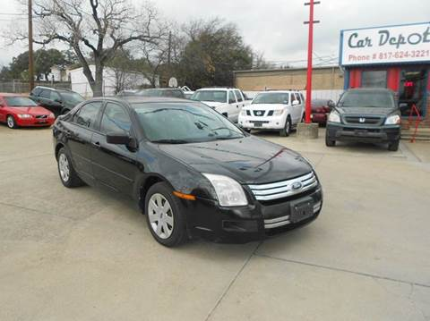2009 Ford Fusion for sale at Car Depot in Fort Worth TX