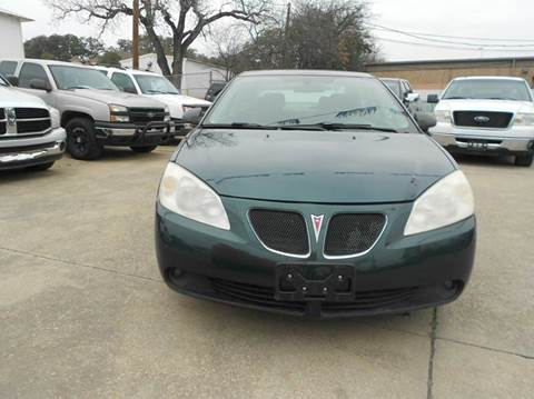2007 Pontiac G6 for sale at CARDEPOT in Fort Worth TX