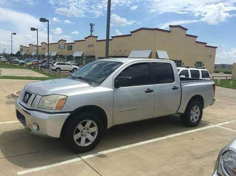 2008 Nissan Titan for sale at CARDEPOT in Fort Worth TX
