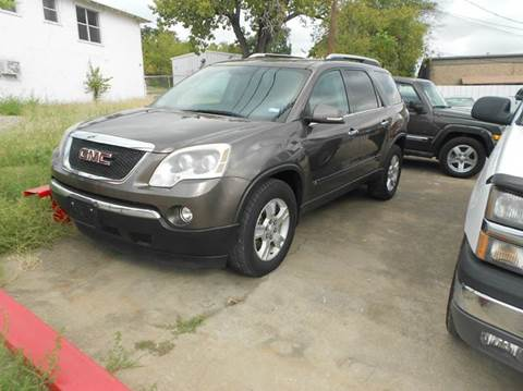2009 GMC Acadia for sale at CARDEPOT in Fort Worth TX