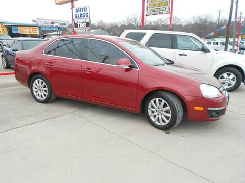 2006 Volkswagen Jetta for sale at CARDEPOT in Fort Worth TX
