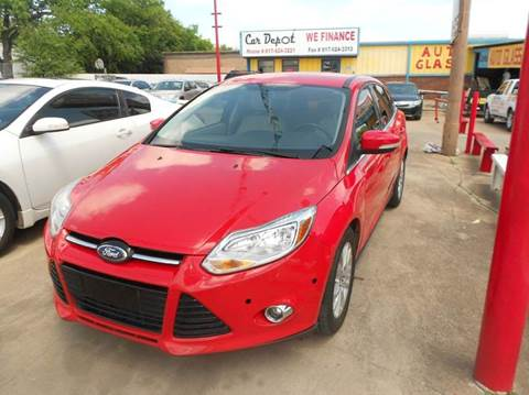 2012 Ford Focus for sale at Car Depot in Fort Worth TX