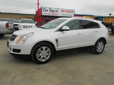 2010 Cadillac SRX for sale at CARDEPOT in Fort Worth TX
