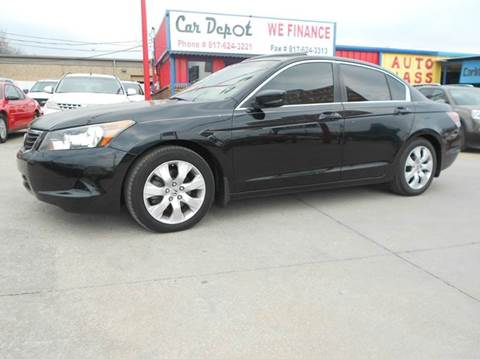 2008 Honda Accord for sale at CARDEPOT in Fort Worth TX
