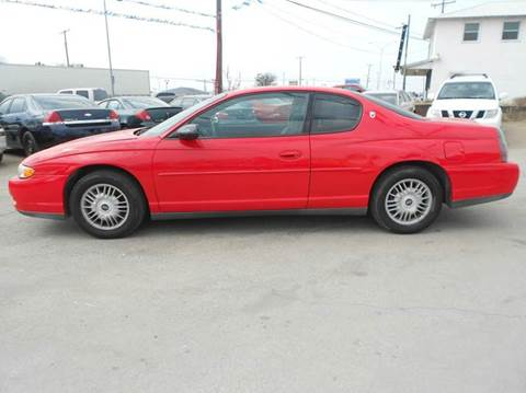 2001 Chevrolet Monte Carlo for sale at CARDEPOT in Fort Worth TX
