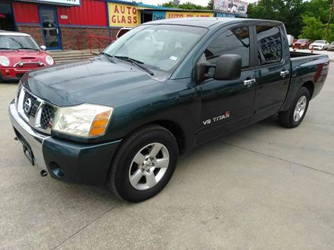 2006 Nissan Titan for sale at CARDEPOT in Fort Worth TX
