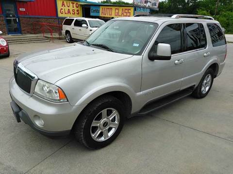 2004 Lincoln Aviator for sale at Car Depot in Fort Worth TX