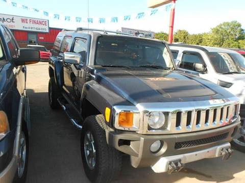 2008 HUMMER H3 for sale at CARDEPOT in Fort Worth TX