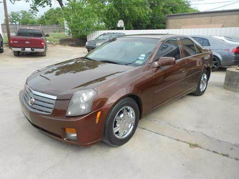 2005 Cadillac CTS for sale at Car Depot in Fort Worth TX