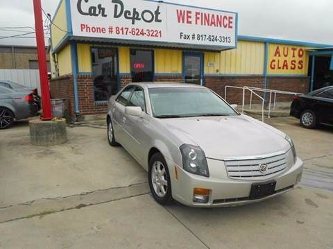 2007 Cadillac CTS for sale at Car Depot in Fort Worth TX