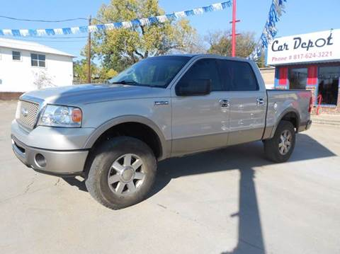 2006 Ford F-150 for sale at Car Depot in Fort Worth TX