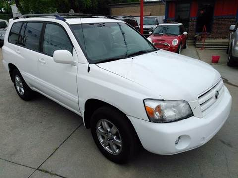 2007 Toyota Highlander for sale at CARDEPOT in Fort Worth TX