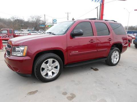 2007 Chevrolet Tahoe for sale at CARDEPOT in Fort Worth TX