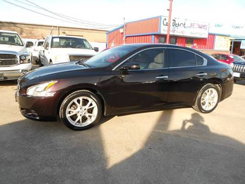2012 Nissan Maxima for sale at CARDEPOT in Fort Worth TX