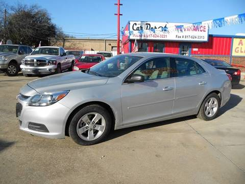 2014 Chevrolet Malibu for sale at Car Depot in Fort Worth TX