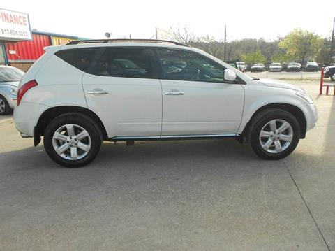 2006 Nissan Murano for sale at CARDEPOT in Fort Worth TX